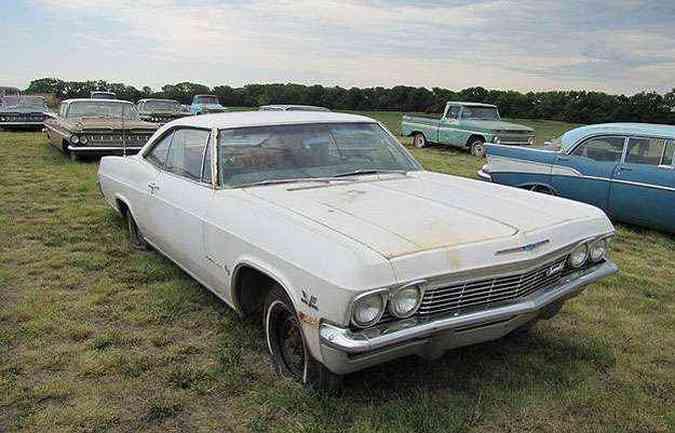 Chevrolet Impala 1965 V8 automático: US$ 45 mil no leilão!(foto: Divulgação)