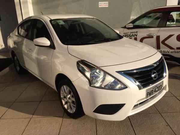 Nissan Versa Sl 1.6 16v Flexstart 4p Mec. 2016 R$ 41.990,00 MG VRUM