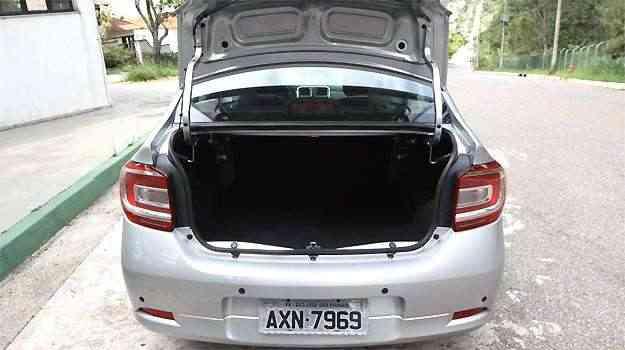 Porta malas tem capacidade para 510 litros -