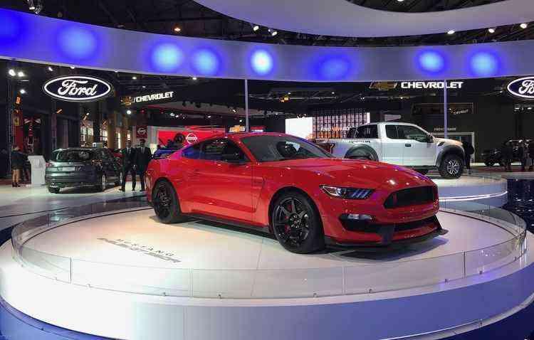 Mustang GT deve começar a ser vendido no final deste ano aqui no Brasil - Jorge Moraes/DP