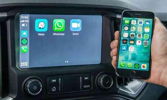 Sistema multimídia MyLink3 com Wi-Fi nativo está disponível nas versões de topo(foto: Chevrolet/Divulgação)