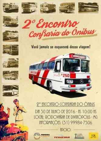 Cartaz de divulgação do evento(foto: Divulgação)