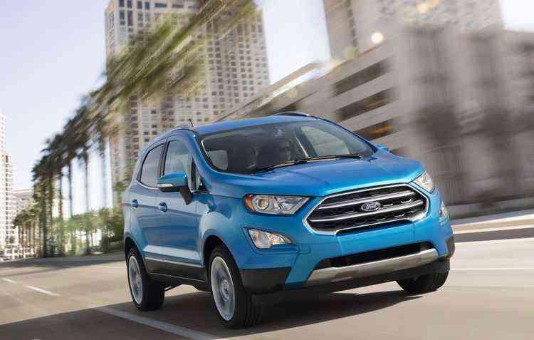 Novo motor vai equipar o EcoSport, que chega no Brasil em 2018 - Ford/Divulgação