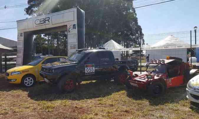 Diversas modalidades de rali são expostas no encontro do Rally Clube MG(foto: Divulgação)