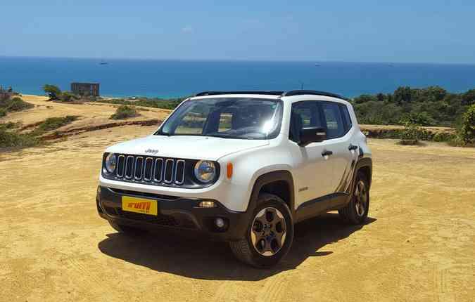 Jeep Renegade deixa de ser o utilitário mais vendido e aparece em 13ª colocação de vendas em agosto. Foto: Bruno Vasconcelos / Arquivo DP