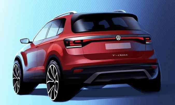 Modelo será apresentado no Salão do Automóvel de São Paulo, em novembro(foto: Volkswagen/Divulgação)