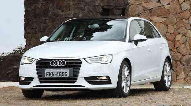 Audi A3 tem a menor desvalorização do segmento - Marlos Ney Vidal/EM/D.A PRESS