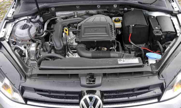 Motor com injeção direta teve o turbocompressor redimensionado para gerar mais potência e torque - Juarez Rodrigues/EM/D.A Press