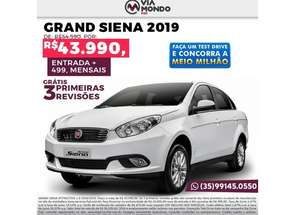 Fiat Grand Siena Attractive 1.0 Flex 8v 4p em Itajubá, MG valor de R$ 43.990,00 no Vrum
