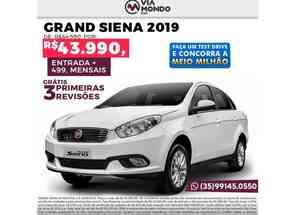 Fiat Grand Siena Attractive 1.0 Flex 8v 4p em Itajubá, MG valor de R$ 43.990,00 no Vrum