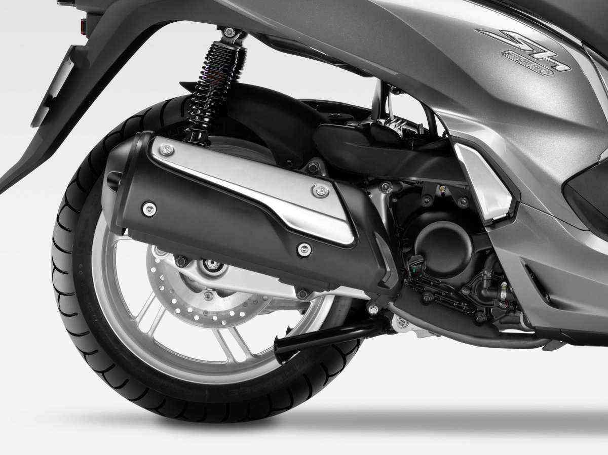 Os freios são a disco com sistema C-ABS - Honda / Divulgação