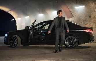BMW M4 dividirá espaço nas telonas com Tom Cruise. Foto: BMW / Divulgação