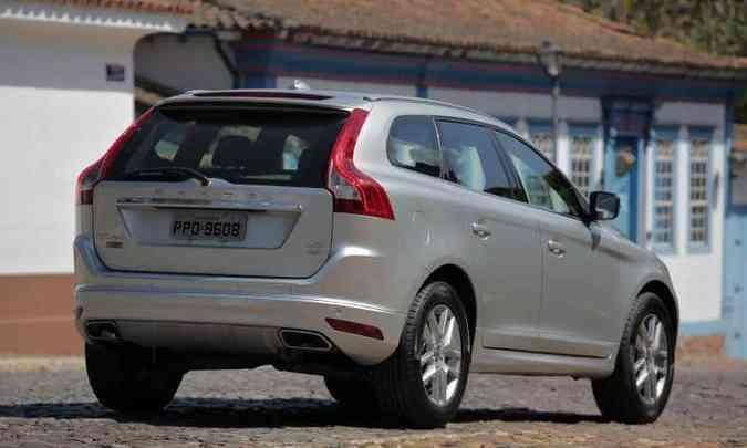 Utilitário-esportivo responde por nada menos que 53% das vendas da Volvo no Brasil(foto: Llorente & Cuenca/Volvo/Divulgação)