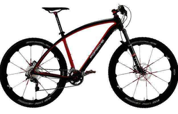 Bicicletas são equipadas com etiqueta anti-roubo - Porsche/divulgação