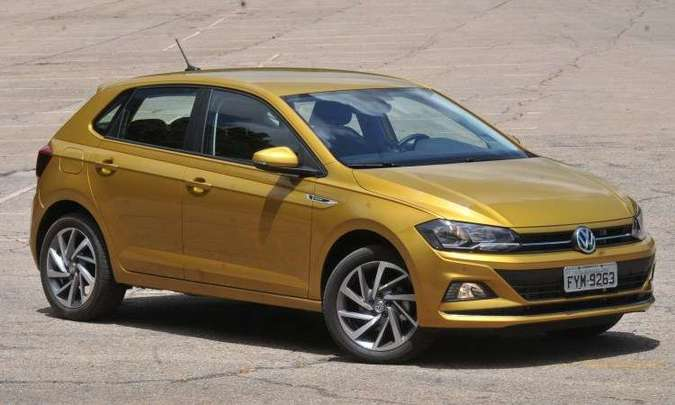Por enquanto, a cor de lançamento amarelo Cúrcuma não está disponível para venda(foto: Jair Amaral/EM/D.A Press)