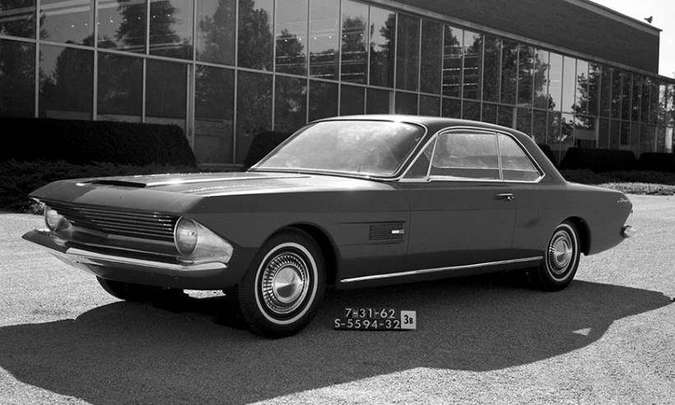 Mustang Allegro, de 1962(foto: Ford/Divulgação)