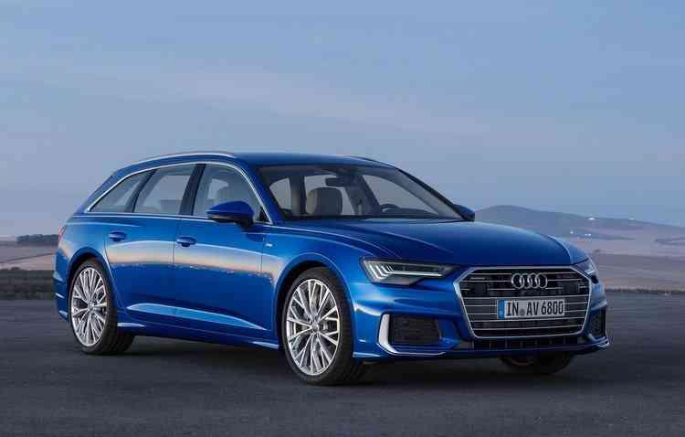 Modelo é produzido pela plataforma MLB Evo. Foto: Audi / Divulgação -