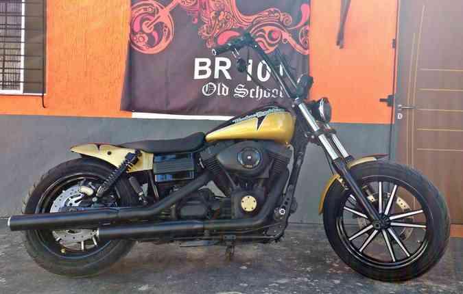Para tornar a moto diferente é preciso investir e seguir as normas. Foto: BR 101 Old School/Divulgacao
