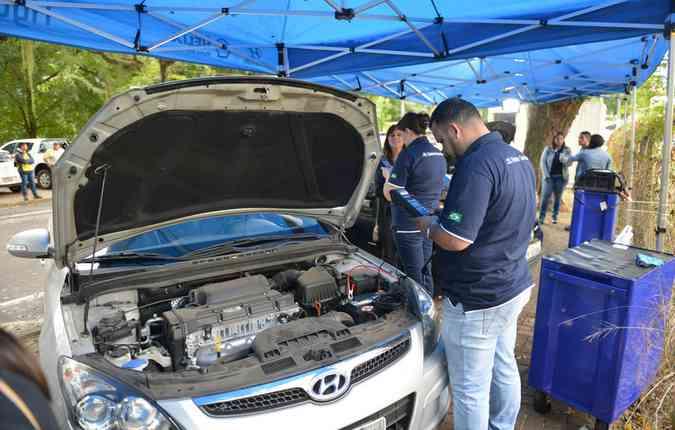As inspeção é válida para qualquer marca (foto: Hyundai/ Divulgação )