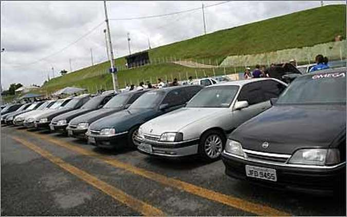 Fãs de modelos como o Chevrolet Omega podem se reunir no Mega Space