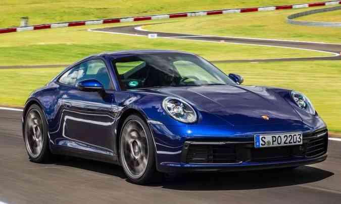 O 'Carro Superpremium do Ano', acima de R$ 220 mil, é o novo Porsche 911(foto: Porsche/Divulgação)