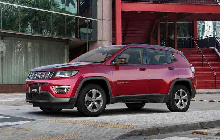 Compass ganha versão Limited Diesel - Jeep / Divulgação