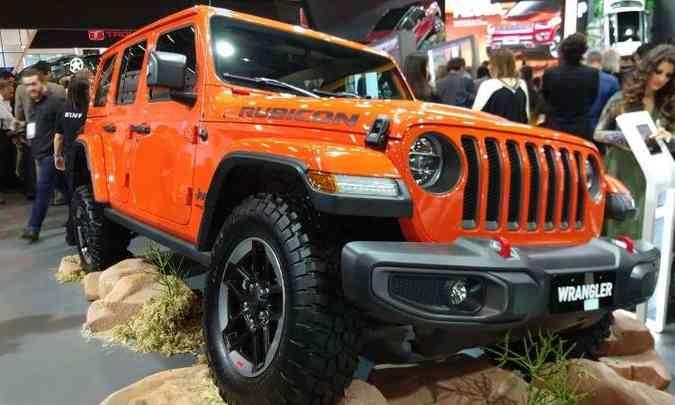 Jeep Wrangler(foto: Pedro Cerqueira/EM/D.A Press)