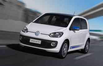 Todas as versões do Volkswagen Up! receberam o selo máximo de eficiência energética (foto: Marcelo Spatafora/Divulgacao)