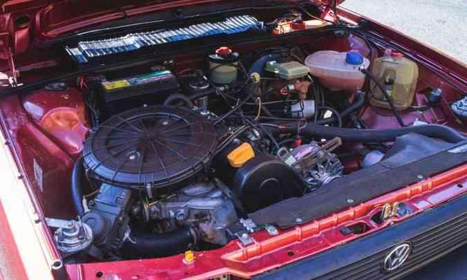 O motor AP 1.8 proporciona bom desempenho à perua, que tem boa dirigibilidade, segundo Adriano(foto: Jorge Lopes/EM/D.A Press)