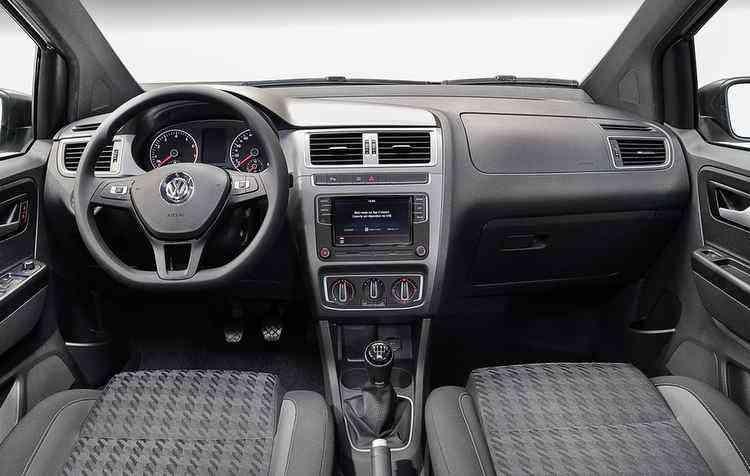 Já na versão de entrada, Trendline, está disponível o sistema Composition Touch - Volkswagen / Divulgação