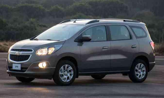 Chevrolet Spin Eco(foto: General Motors/Divulgação)