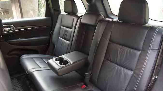 Conforto para todos os cinco ocupantes do SUV(foto: Thiago Ventura/EM/D.A PRESS)