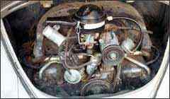 Em modelos mais antigos, como o Fusca, reparos mecânicos e elétricos eram mais fáceis - Sidney Lopes/EM - 5/4/05