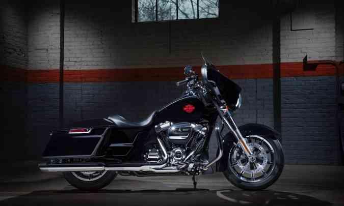 O motor com dois cilindros em V fornece 15,3kgfm de torque a apenas 3.250rpm(foto: Harley-Davidson/Divulgação)