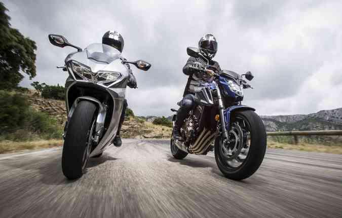 Motos tipo Sport Touring(foto: Michelin/ Divulgação)