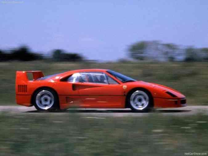 Ferrari F40 é uma edição comemorativa dos 40 anos da ScuderiaFerrari/Divulgação