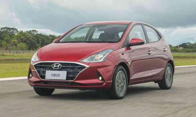 Novo HB20(foto: Hyundai/Divulgação)