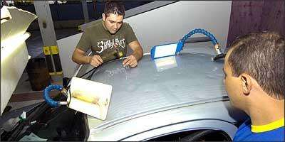 Irmãos Meira Dutra viajam o mundo no rastro das chuvas de granizo - Marcelo Sant'Anna/EM/D.A Press - 22/9/08
