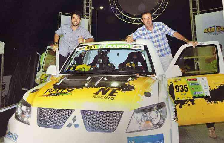 Paulo e Carlos já ganharam o título do campeonato do Nordeste de rali de regularidade - Angelo Savastano/Divulgação