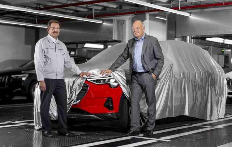 Modelo está sendo fabricado na planta de Bruxelas. Foto: Audi / Divulgação -