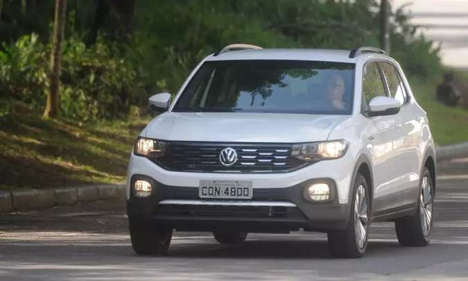 Volkswagen T-Cross(foto: Leandro Couri/EM/D.A Press)