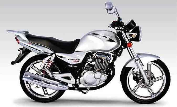 A GSR 150i tem motor de um cilindro, que desenvolve 12,17cv(foto: Fotos: Suzuki/Divulgação)
