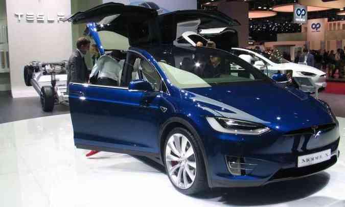 Model X desembarca em dezembro(foto: Enio Filho/EM/D.A Press)