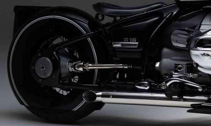 O motor boxer com 1.802cm³ é o maior já produzido pela BMW(foto: BMW/Divulgação)