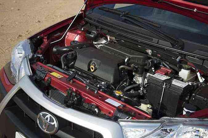 Motor 1.5 de 96cv tem desempenho surpreendente (foto: Thiago Ventura/EM/D.A Press)