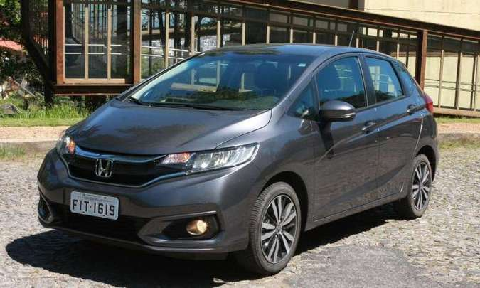 Honda Fit atingiu meia-vida com pequenas mudanças no visual(foto: Edésio Ferreira/EM/D.A Press)