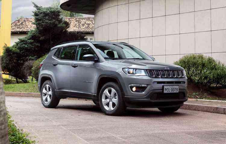 Jeep Compass 2018 estreia versão Limited Diesel