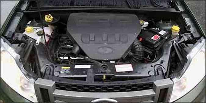 Nem mesmo o ar-condicionado ligado afeta o desempenho, seja em retomada, seja em aceleração(foto: Marlos Ney Vidal/EM/D.A Press - 16/12/2008 )