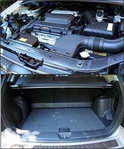 Propulsor quatro cilindros é ruidoso em altas rotações. Porta-malas não é dos maiores, mas tem boa capacidade -