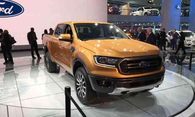 A Ford Ranger americana foi reestilizada e ganhou a versão FX4 off-road(foto: Enio Greco/EM/D.A Press)